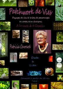 «Patchwork de vies» à Denée (49) – Jeudi 5 mars 2020